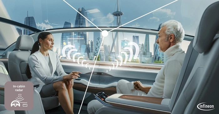 Infineon takes system approach to automotive in-cabin monitoring